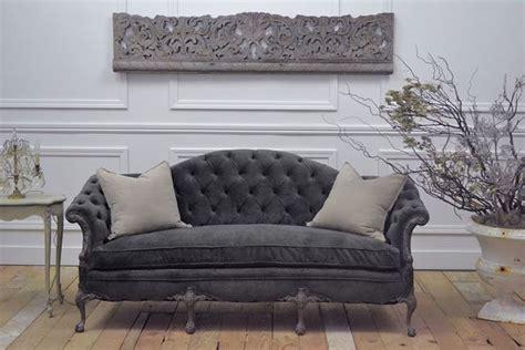 grey velvet settee best 25 antique sofa ideas on antique