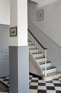 peinture bien marier le gris dans la deco cote maison With quelle couleur de peinture pour un couloir 5 cage escalier et hall dentree