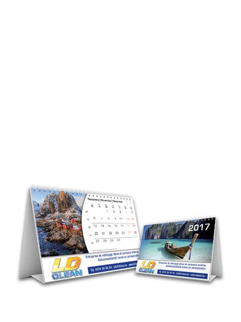 calendrier bureau photo calendrier publicitaire impression de calendriers 2018