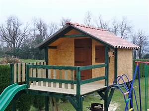 Maison Pour Enfant En Bois : plan cabane bois enfant les cabanes de jardin abri de ~ Premium-room.com Idées de Décoration