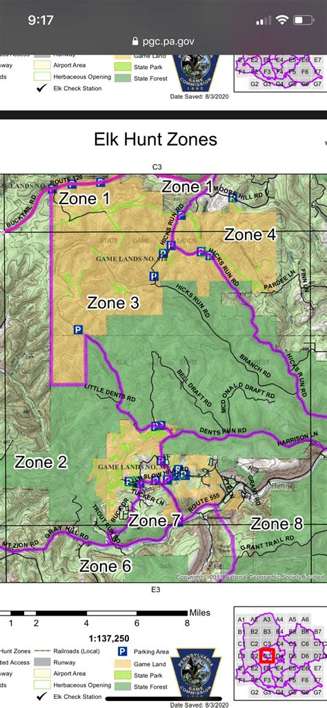 elk pa zone help pennsylvania hunting range