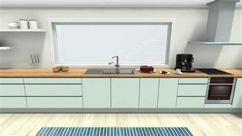 mint green kitchen paint cool mint green kitchen roomsketcher 7527