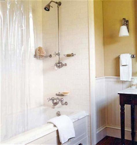 Beadboard And Tile Bathroom by Beadboard In Bathrooms