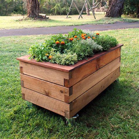 Raised Planter Box Diy  Sorrentos Bistro Home
