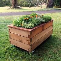 raised garden boxes Design Garden With Raised Planter Box   Indoor & Outdoor Decor