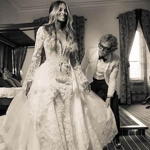 ciara39s wedding dress see the roberto cavalli gown With roberto cavalli wedding dresses