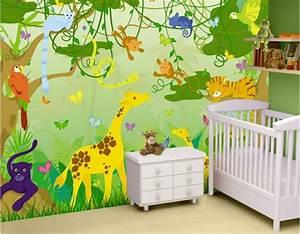 Kinderzimmer Wandgestaltung Ideen : kinderzimmer wandgestaltung dschungelbuch ~ Sanjose-hotels-ca.com Haus und Dekorationen