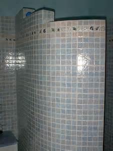 Foto doccia in muratura di progettazione e