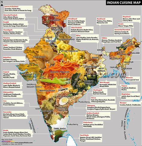 cuisine by region the culinary regions of indian food monday mapone 39 s