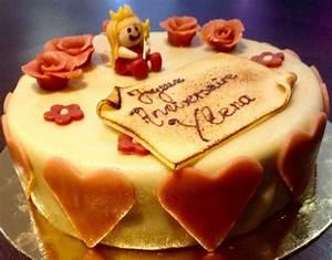 Deco Pate D Amande : g teau d 39 anniversaire chocolat d co p te d 39 amande ~ Melissatoandfro.com Idées de Décoration