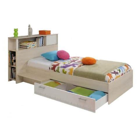 tete lit en cm avec rangement achat vente pas cher pliant conforama 90x190 solde pin bois la