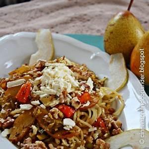 Pasta Mit Hokkaido Kürbis : pasta mit karamellisierter honigbirne hokkaido feta und ger steten waln ssen 4 1 5 ~ Buech-reservation.com Haus und Dekorationen