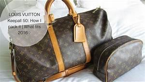 Louis Vuitton Bademantel : louis vuitton keepall 50 how i pack it what fits 2016 ~ A.2002-acura-tl-radio.info Haus und Dekorationen
