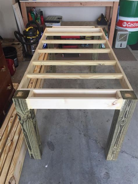 make kitchen table how to make your own farmhouse table build me