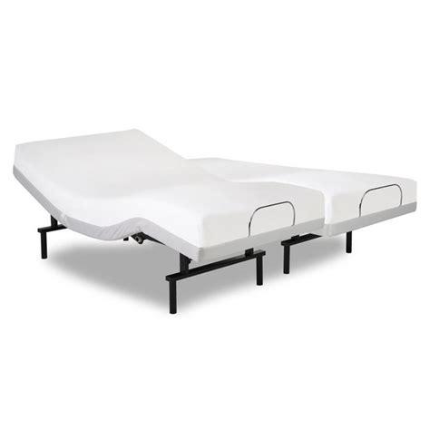 adjustable bed base split king split california king adjustable base 4ap149