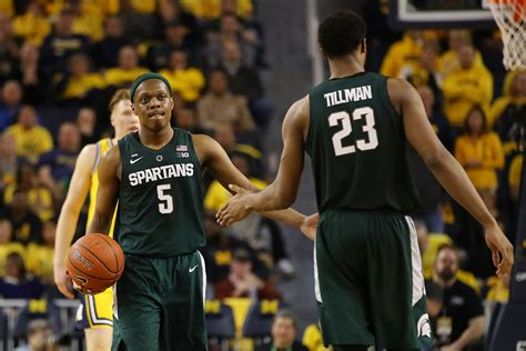 michigan state basketball breaking  loaded roster