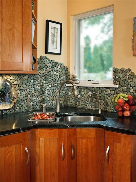 rock kitchen backsplash 16 best ideas about rockin it on pinterest ceramics shower pan and stone shower