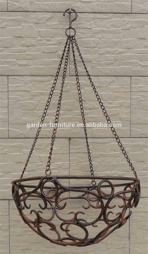 wrought iron hanging ls wholesale handicraft garden outdoor decor hanging flower