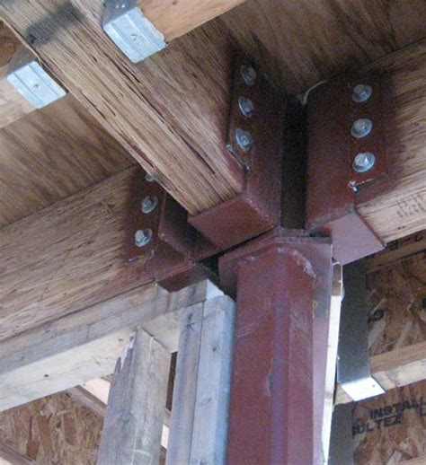 structure steel  wood home building  vancouver