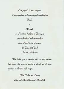 Best photos of wedding announcement letter wedding for Wedding announcement letter