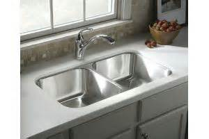 sterling kitchen sink sterling 11444 mcallister stainless steel self 2512