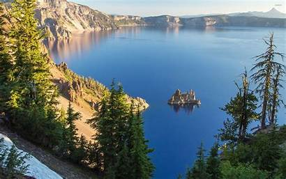 Crater Lake Oregon Wallpapers Usa Background Desktop