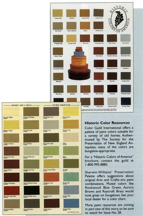 historic color preservation palette sherwin williams p r e s e r v a t i o n