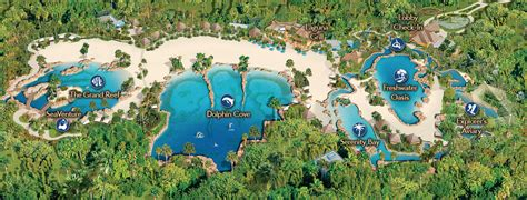 Discovery Cove Orlando Tickets by Interactive Resort Map Discovery Cove Orlando