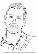 Adam Sandler Draw Step Drawing Coloring Celebrities Licorice Sketch Colouring Template Learn Drawingtutorials101 sketch template