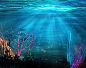 Underwater Landscape by KT-ExReplica on DeviantArt