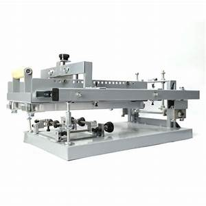 Manual Round Screen Cylinder Printing Machine For Bottle