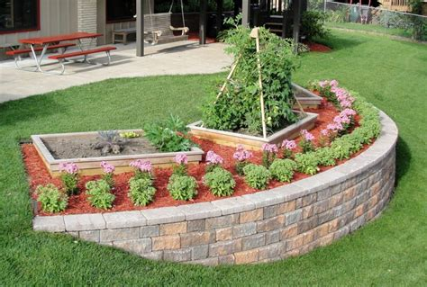 how to build a garden retaining wall