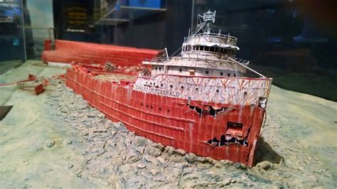 100 what time did the edmund fitzgerald sank did a