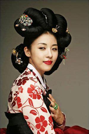 la coiffure coreenne traditionnelle coiffure
