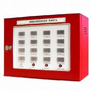 Fire Annunciator Panel At Rs 8000   Unit