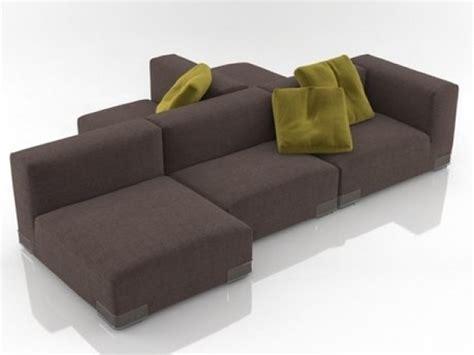 plastics duo sofa   model kartell italy