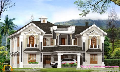 colonial house plans colonial style house in kerala kerala home design and