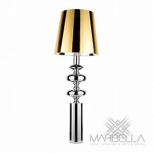 floor lamp bastille gold marbella event furniture and With gold chrome floor lamp