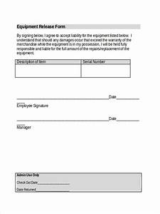 Responsibility Form Template Free 5 Equipment Liability Forms In Ms Word Pdf