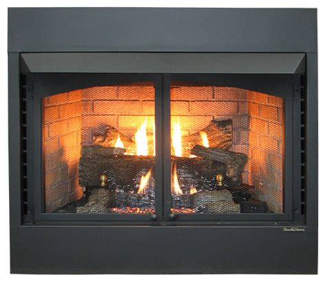 ventless fireplace insert ethanol buck stove model 36zcbbxl vent free gas fireplace oak