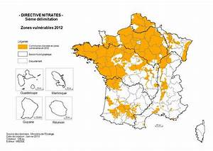 Carte France Pollution : protection de l 39 eau la directive nitrates en question ~ Medecine-chirurgie-esthetiques.com Avis de Voitures