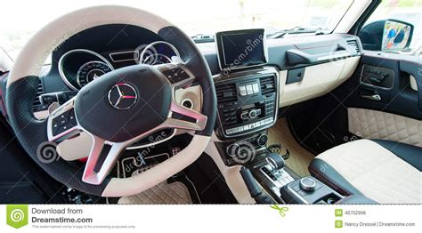 mercedes g class amg interieur editorial photo image 40702996