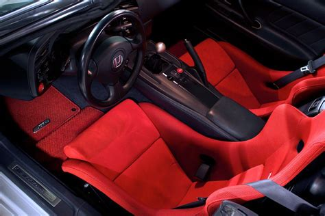 S2000 Premium Floor Mats by Genuine Honda S2000 Or Black 4 Mat Set