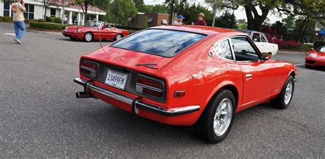 classic sports cars datsun 240z at cars coffee
