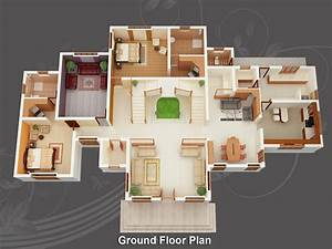 Evens Construction Pvt Ltd: 3d House Plan 20-05-2011