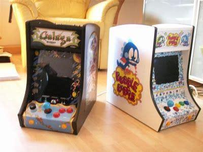 bubble bobble and galaga mini bartop project bartop