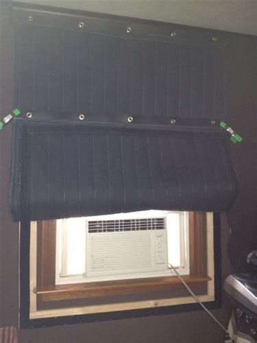 custom window cover removable noise barrier  windows