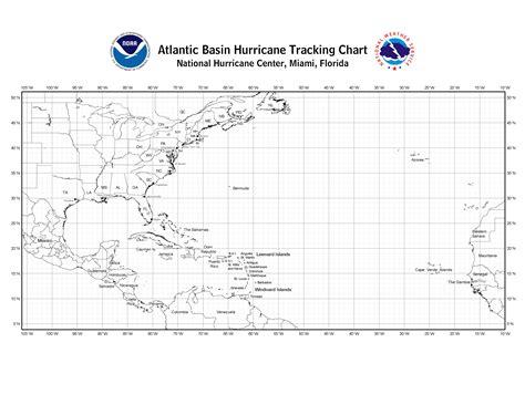nhc blank tracking charts