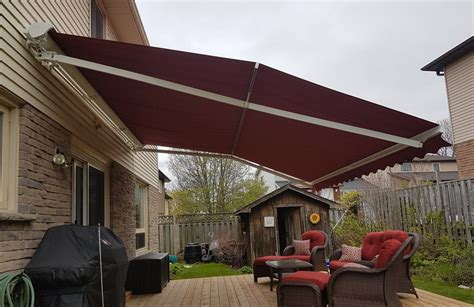 caring  retractable awnings  winter dry guy waterproofing