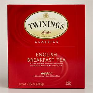 Twinings English Breakfast Tea, 100-Count World Market